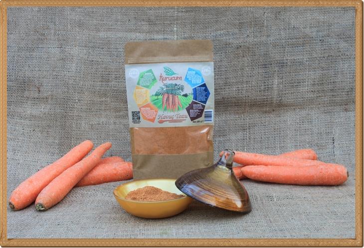 Havuç Tozu -100 gram