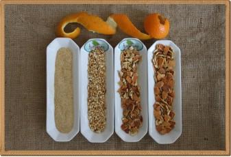 Portakal kabuğu tozu - 1 kg